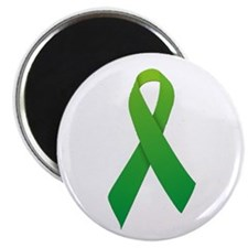 "Green Ribbon 2.25"" Magnet (10 pack)"