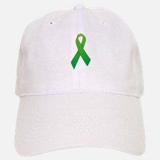 Green Ribbon Baseball Baseball Cap