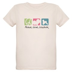 Peace, Love, Löwchen T-Shirt