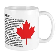 You Might be in the Canadian Forces... Mug