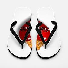 Sacred Heart of Jesus Flip Flops
