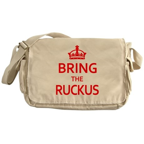 Bring the Ruckus Messenger Bag