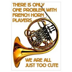 French Horn Cutie Poster