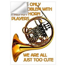 French Horn Cutie Wall Decal