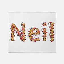 Neil Fiesta Throw Blanket