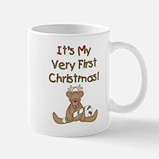 Reindeer Bear 1st Christmas Mug