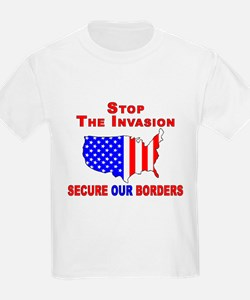 STOP The Invasion Kids T-Shirt