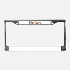Nolan Fiesta License Plate Frame
