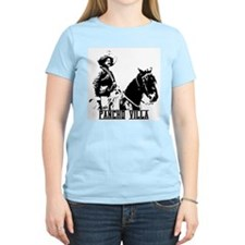 Pancho Villa Women's Pink T-Shirt