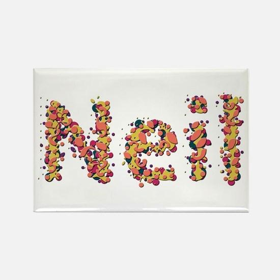 Neil Fiesta Rectangle Magnet