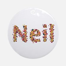 Neil Fiesta Round Ornament