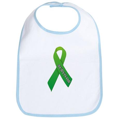 Green Ribbon 'Survivor' Bib