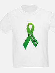 Green Ribbon 'Survivor' T-Shirt