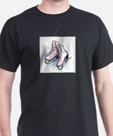 Cool Ice skating art T-Shirt