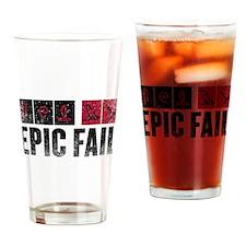 Lost Hieroglyphics Drinking Glass