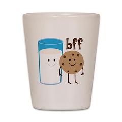 Milk & Cookies BFF Shot Glass