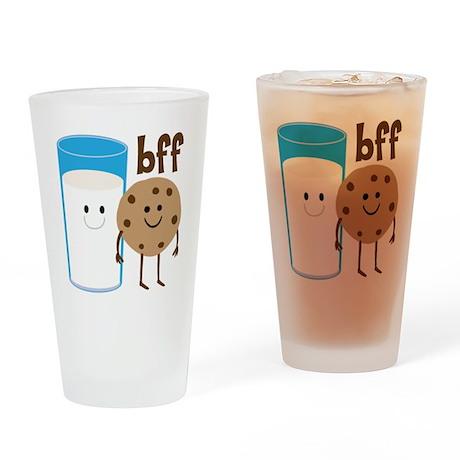 Milk & Cookies BFF Drinking Glass