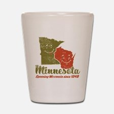 MN: Spooning WI Shot Glass