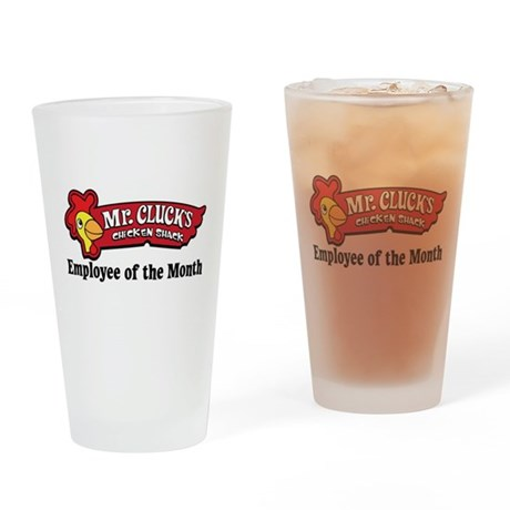 Mr. Cluck Charity Drinking Glass