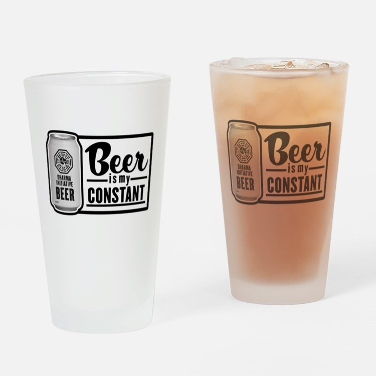 Beer Is My Constant Drinking Glass