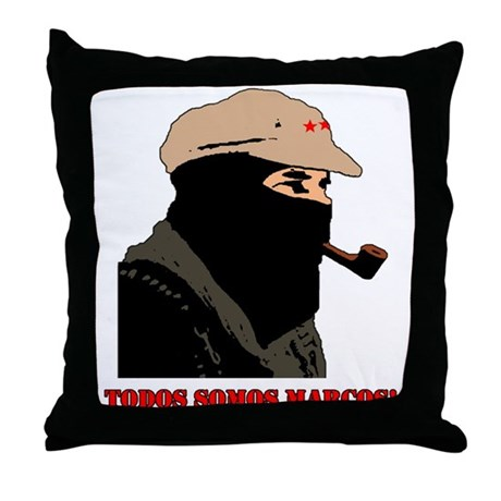 Todos Somos Marcos Throw Pillow