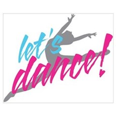 Let's Dance Dancer Poster