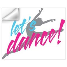 Let's Dance Dancer Wall Decal