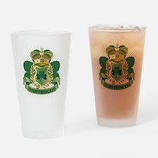 Irish Princess Drinking Glass