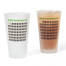 Irish Stopwatch Drinking Glass