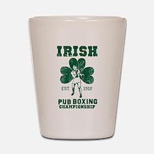 Irish Pub Boxing Shot Glass