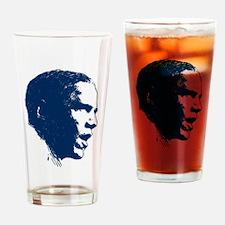 Obama Portrait Drinking Glass
