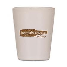 Homebrewers Got Flavor Shot Glass
