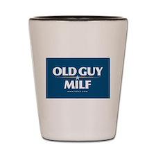 Funny Milf palin Shot Glass
