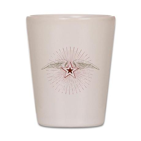 Vintage Flying Star Shot Glass