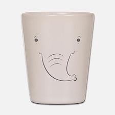 Baby Elephant Shot Glass