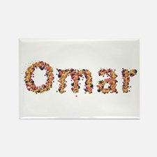 Omar Fiesta Rectangle Magnet