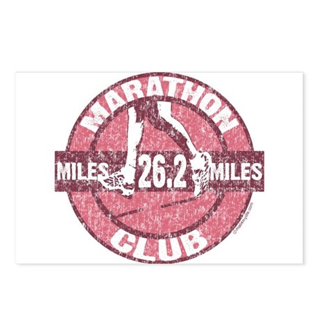 Marathon Club Postcards (Package of 8)