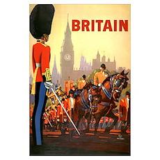 Britain Travel Poster