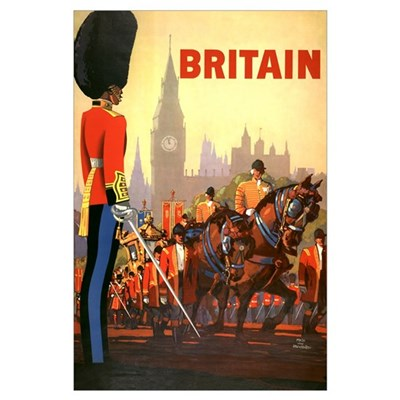 Britain Travel Poster