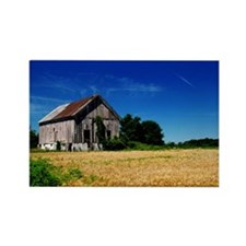 Farm on a Field Rectangle Magnet