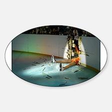 Cool Ice art Sticker (Oval)