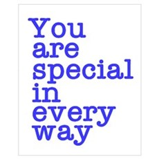 You Are Special Canvas Art