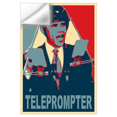 Teleprompter Wall Decal
