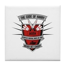 Dexter - The Code of Harry Tile Coaster