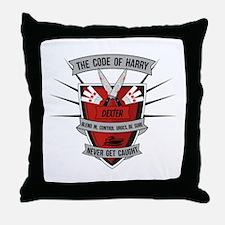 Dexter - The Code of Harry Throw Pillow