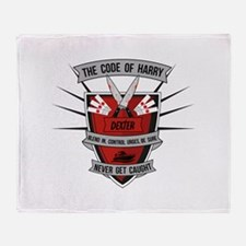 Dexter - The Code of Harry Throw Blanket