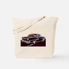 Unique 50%27s race cars Tote Bag