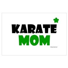 Karate Mom 1 (Grass) Poster