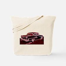 Cute 50%27s race cars Tote Bag