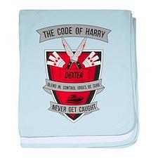 Dexter - The Code of Harry baby blanket